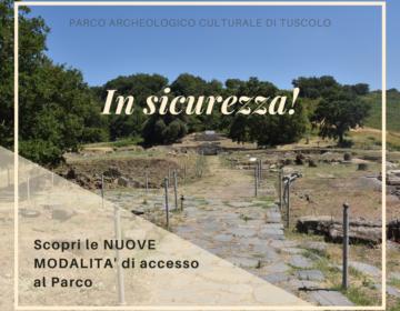 Covid 19 – Nuove modalità di accesso al Parco